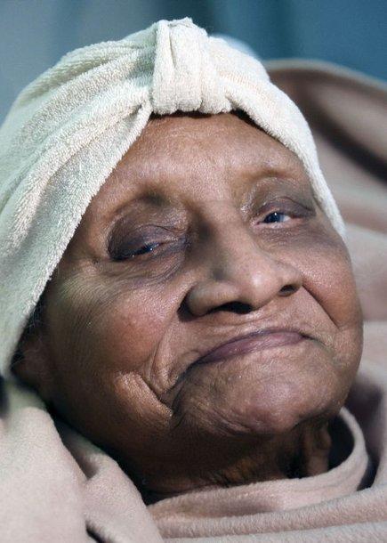 Gertrude Baines buvo seniausia pasaulio gyventoja