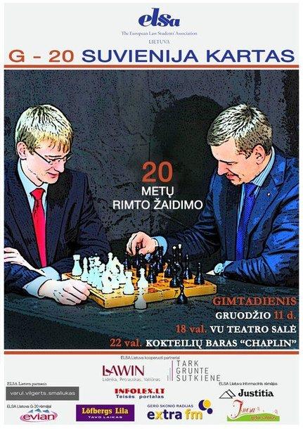 Didžiausia Lietuvoje studentų teisininkų organizacija švenčia 20-tąjį jubiliejų.