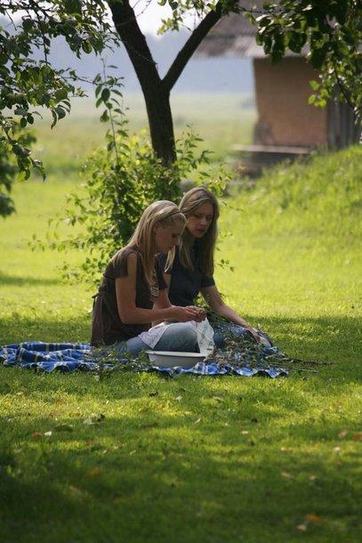 """Antrasis """"Naisių vasaros"""" sezonas – su aktore Gabija Ryškuviene."""