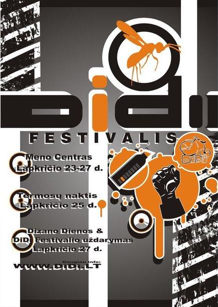 """""""DiDi""""  festivalio plakatas"""