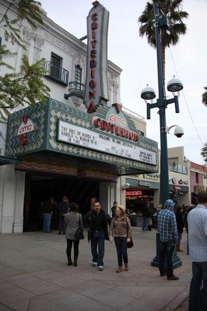 "Filmo seansas įvyko Los Andželo ""AMC Criterion 6"" kino teatre."