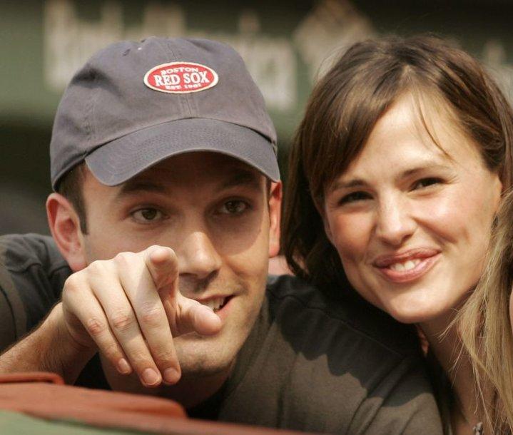 Aktoriai Benas Affleckas ir Jennifer Garner