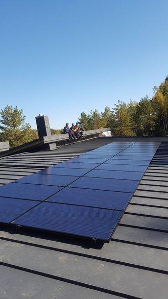 D.Grybauskaitės namą energija aprūpins unikalaus dizaino saulės elektrinė.