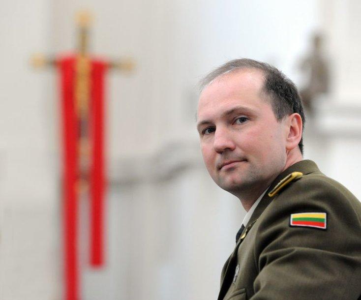 Majoras Saulius Kasmauskas