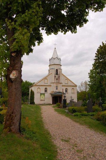 Lapių miestelio bažnyčia