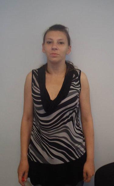 Sulaikyta vagystėmis įtariama moteris