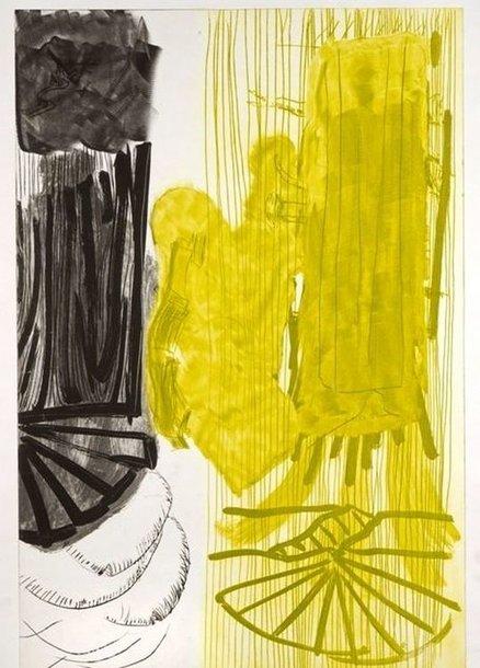 """Peras Kirkeby. Lakštas IV. Iš serijos """"Septynios graviūros"""".1991 Jorno muziejus, Silkeborgas"""