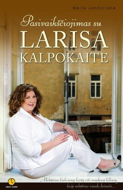 Knygos apie L.Kalpokaitę viršelis.