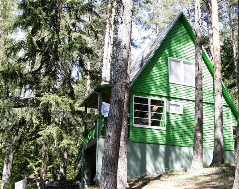 Viena iš Seimo poilsiaviečių: ši – prie Siaurio ežero Švenčionių rajone.
