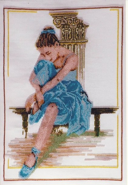 "A.Nikiforovos paveikslas ""Balerina""."