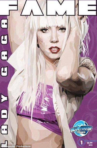 Lady Gaga taps gegužės mėnesį išleidžiamo komikso heroje.