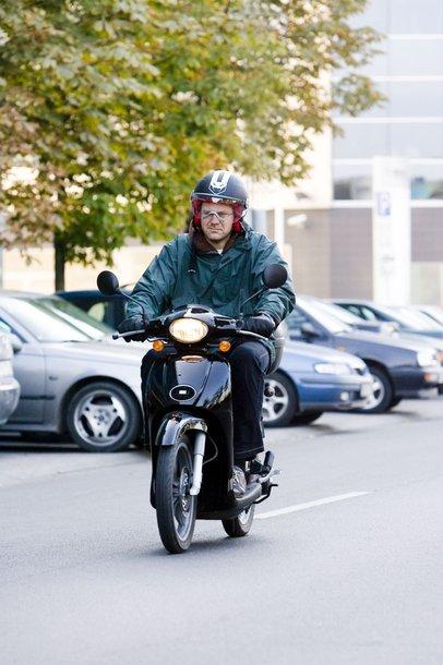 Foto naujienai: Linas Kunigėlis be automobilio
