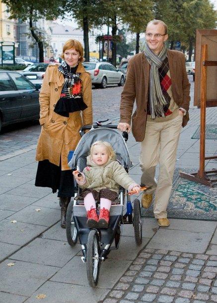 Foto naujienai: Edmundas Jakilaitis turi sūnų