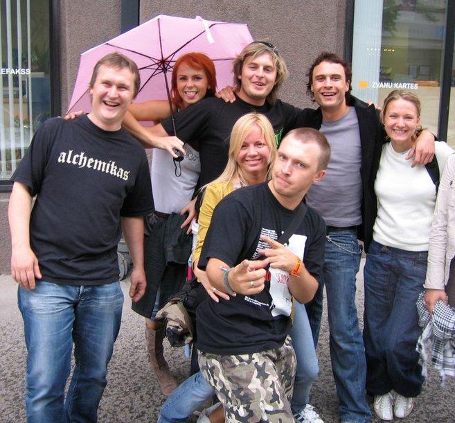 """Foto naujienai: LIetuviai vyko į Latviją pasiklausyti """"Aerosmith"""""""