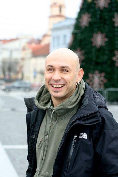Foto naujienai: Radijo laidų vedėjas Marius Šmitas