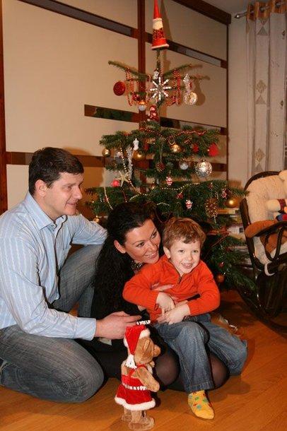 Foto naujienai: Agnės Zacharevičienės eglutė sūnaus papuošta