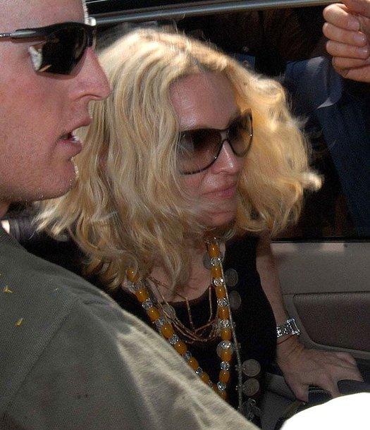 Foto naujienai: Madonna savo namą Londone pavertė sporto sale