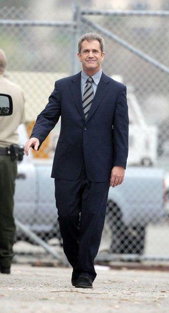 Foto naujienai: Melas Gibsonas išlaikė blaivumo testą