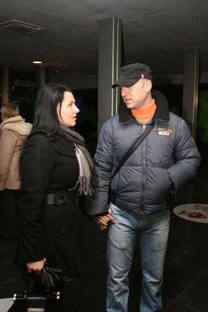 Foto naujienai: Milisandra Kvaracejūtė (25) ir Algirdas Radzevičius (30): meilė yra!