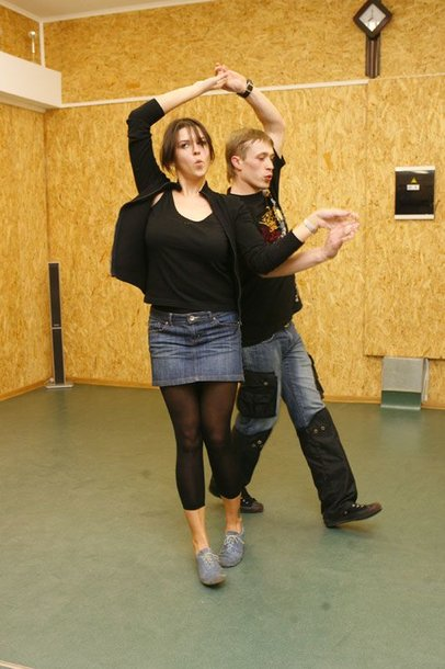 Foto naujienai: Vita Ramanauskaitė šokių nepamiršo