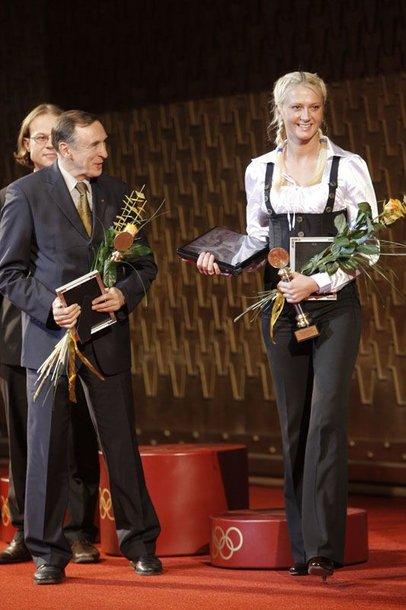 Foto naujienai: Lengvaatletė Viktorija Žemaitytė ir televizija