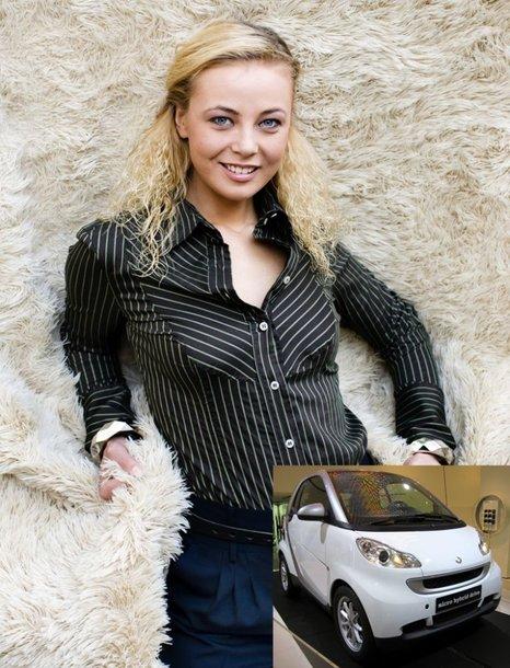 Foto naujienai: Vilija Pilipaitytė-Mia tapo reklamos veidu
