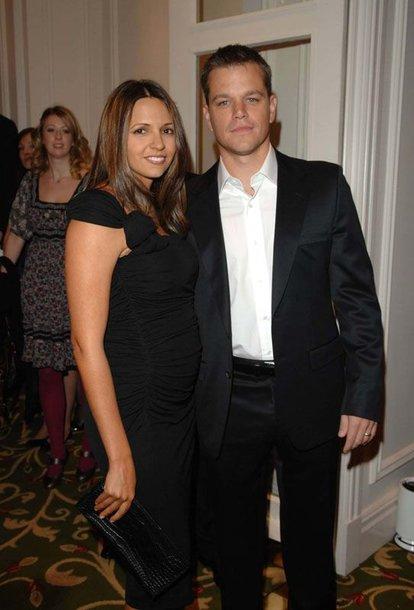 Foto naujienai: Mattas Damonas su žmona turės kūdikį!