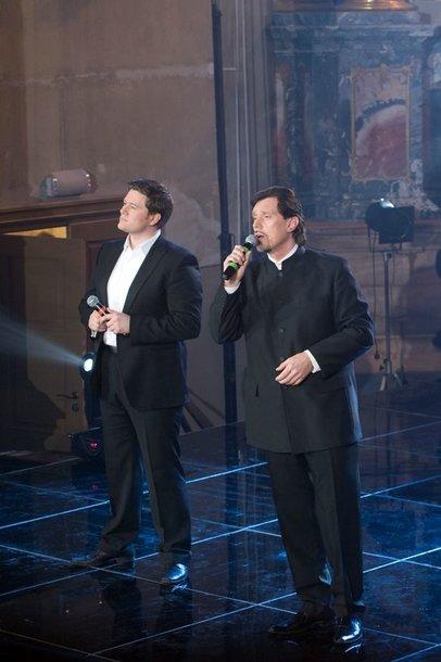 Foto naujienai: Merūnas su Vytautu Juozapaičiu surengė koncertą