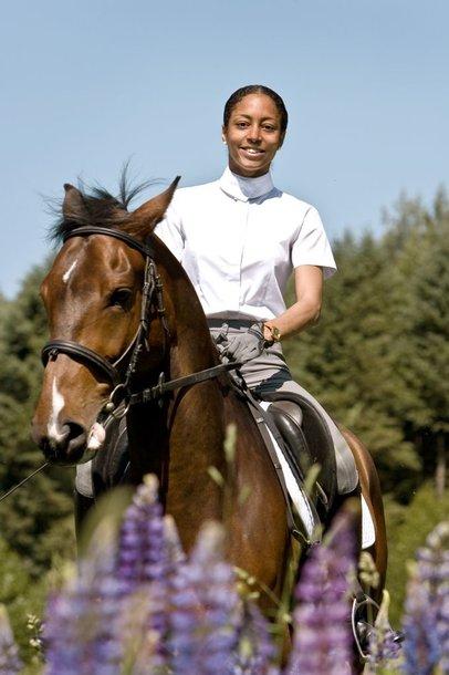 Foto naujienai: Greta Šapkaitė -  į Angliją – su žirgų verslu