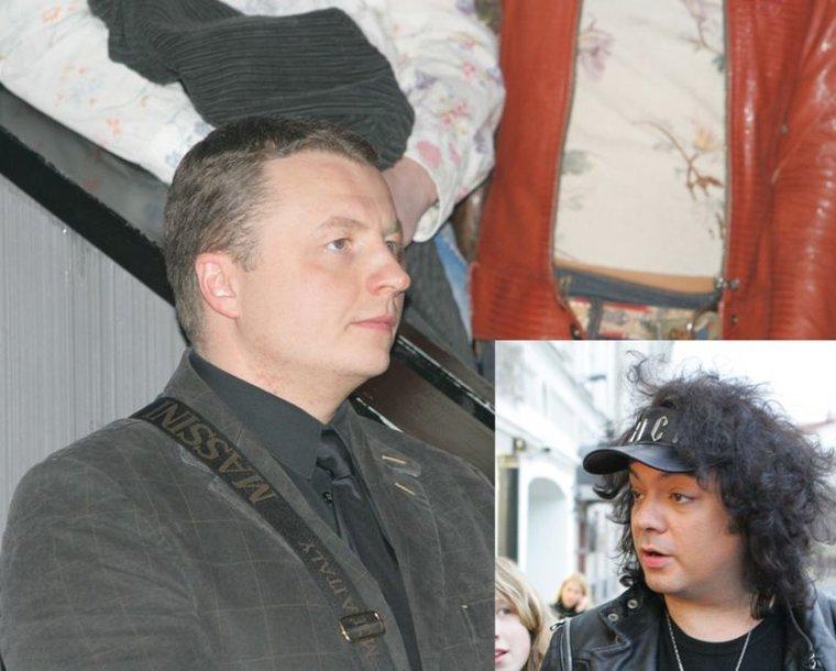 Foto naujienai: Gediminas Juodeika nori pamaitinti F.Kirkorovą