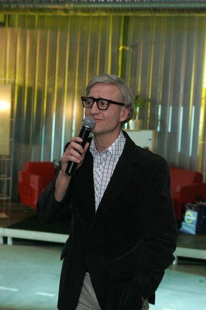 Foto naujienai: Filmų kanalo pristatyme - Andriaus Žebrausko šou