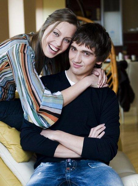 Foto naujienai: Vaida Grikšaitė ir Deividas Česnauskis: kūdikis turi gimti šeimoje!