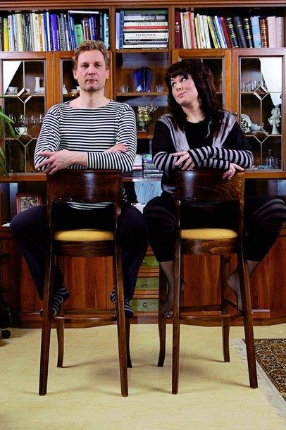 Foto naujienai: Osvaldas ir Asta Markevičiai: ar nebijai manęs vesti?