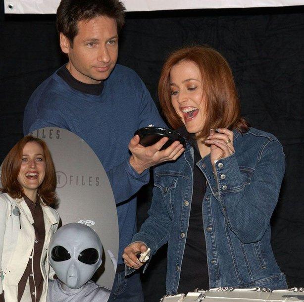 "Foto naujienai: Gillian Anderson nesidomi ""X failais"""