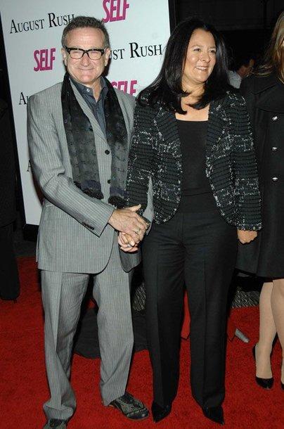 Foto naujienai: Robino Williamso žmona nusprendė skirtis