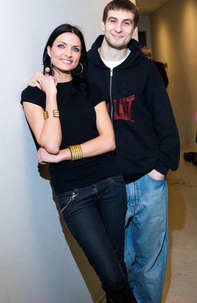 Foto naujienai: S. Chlevickaitė ir A. Glušakovas susilaukė sūnaus. Tai kada vestuvės?
