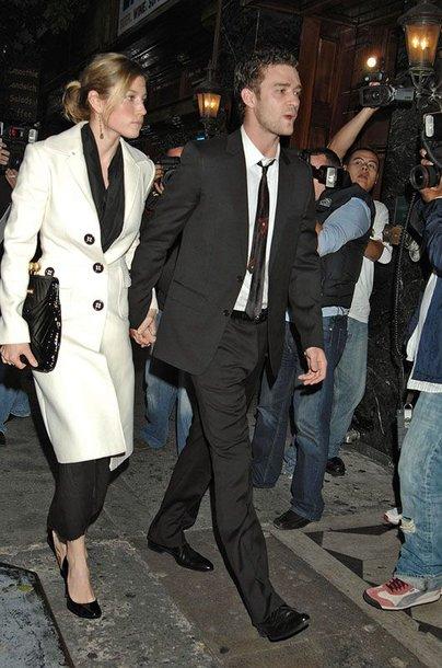 Foto naujienai: Justinas Timberlake'as ir Jessica Biel - karščiausia pora