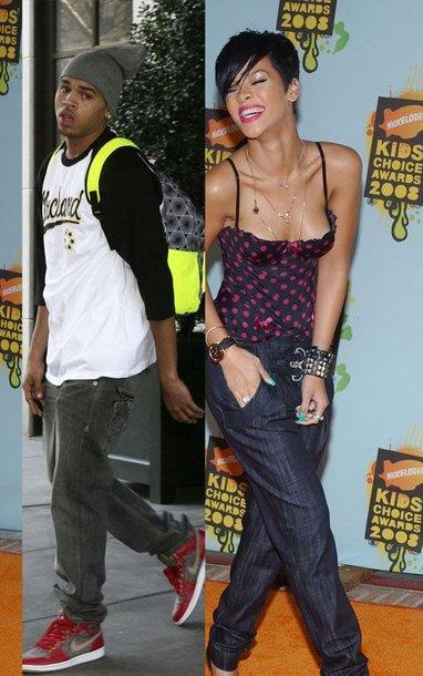 Foto naujienai: Rihannos ir Chriso Browno pasimatymas