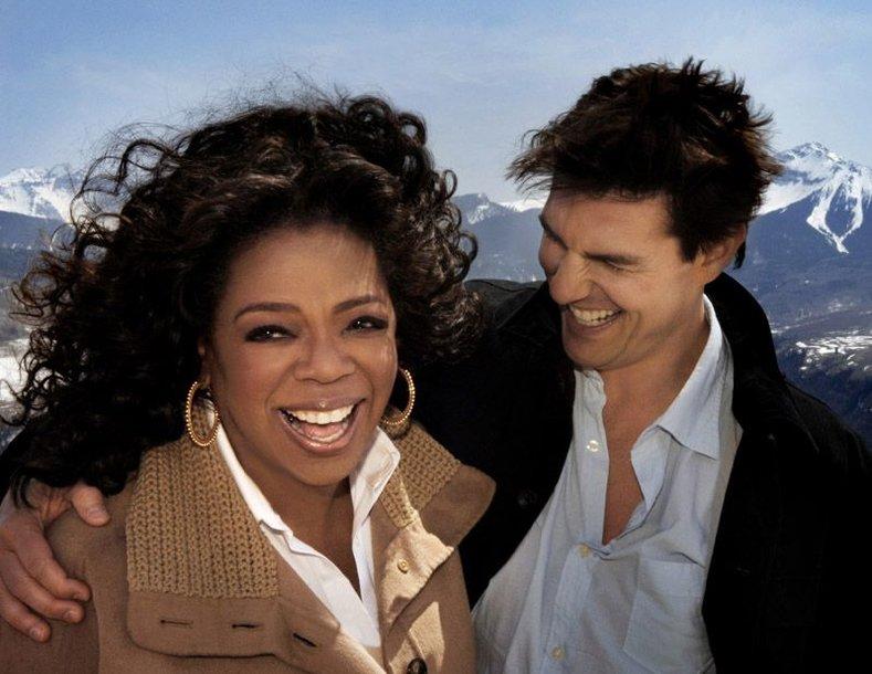 Foto naujienai: Oprah Tomo Cruise'o namuose sužinojo viską