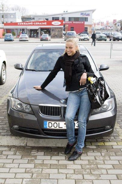 "Foto naujienai: Goda Sabutytė: su ""Swarovski"" ženklu"