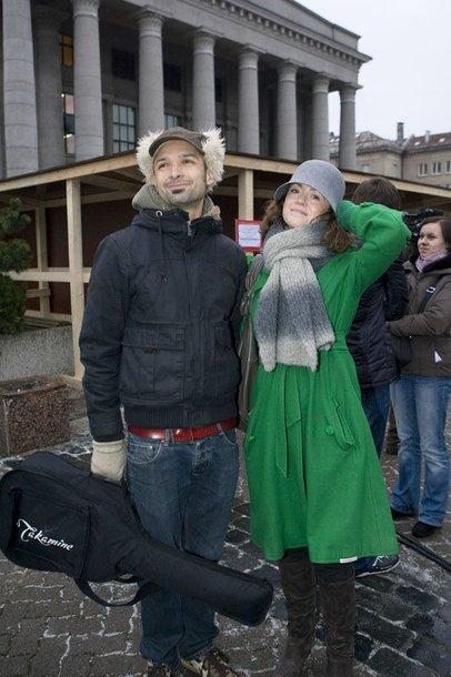Foto naujienai: Erica ir Jurgis Didžiuliai kraunasi lagaminus