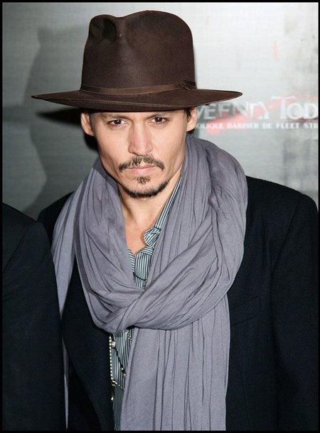 Foto naujienai: Johnny Deppas – paslaptingas ekrano gražuolis