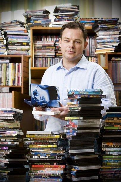 Foto naujienai: Egidijus Knispelis: diagnozė – kino manija
