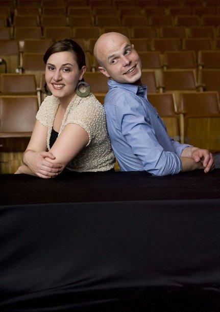 Foto naujienai: Marius Mačiulis ir Alicia Gian. Vaidins Amerikoje