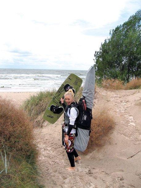 Foto naujienai: Renata Paleičikaitė: per bangas
