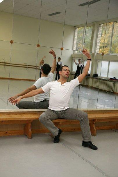 """Foto naujienai: Baleto šokėjas Petras Skirmantas: """"Užauginti vaikus – didesnė karjera nei scena"""""""