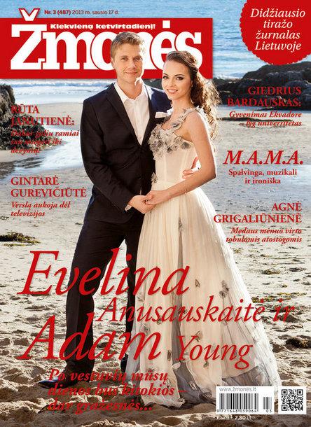 Evelina Anusauskaitė ir Adam Young