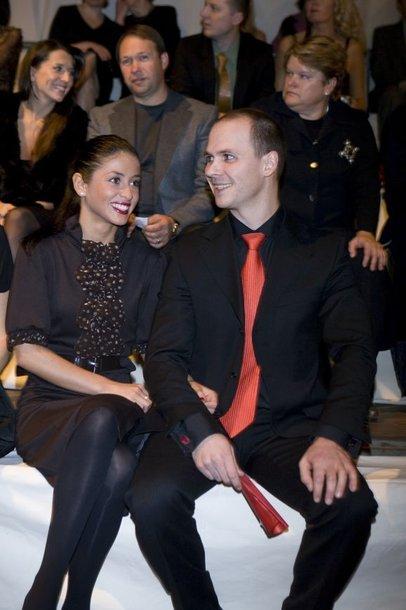 Audrius Bružas ir Šorena Džaniašvili