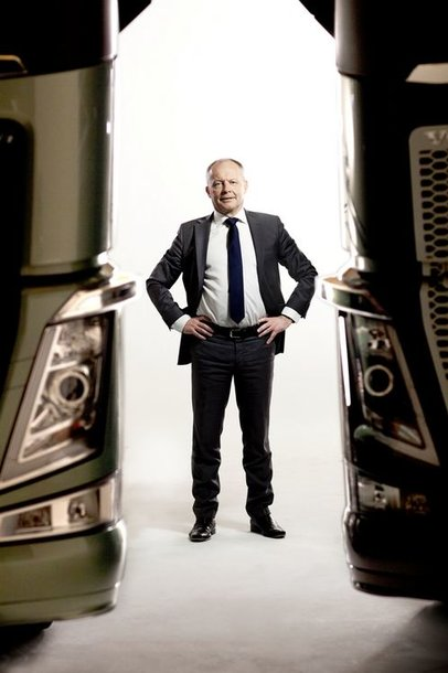 """Volvo Truck Corporation"" prezidentas Claesas Nilssonas"