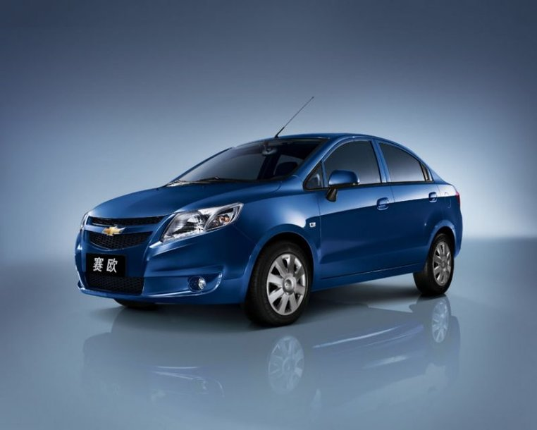 """""""Chevrolet New Sail"""" – iš Kinijos į pasaulį"""
